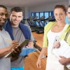 More personal trainers than actual people exercising in gym