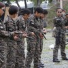 Maids prepare for UAE military service