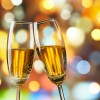 Disappearance of second champagne flute from Facebook profile pic sparks fears for expat's marriage