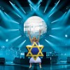 Lady Gaga suffers wardrobe malfunction during Dubai concert and takes to stage wearing inflatable Star of David