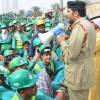 Riot police join labourers in huge flashmob to welcome Dubai Shopping Week
