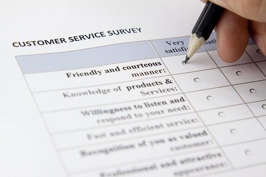 restaurants to start issuing customer satisfaction surveys about