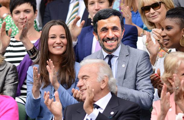 Ahmadinejad-Wimbledon