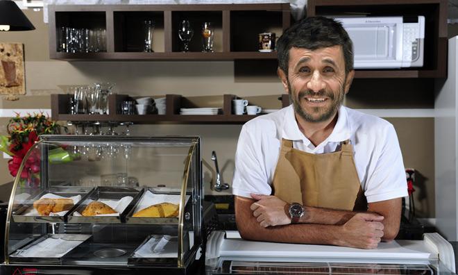 Ahmadinejad-Cafe