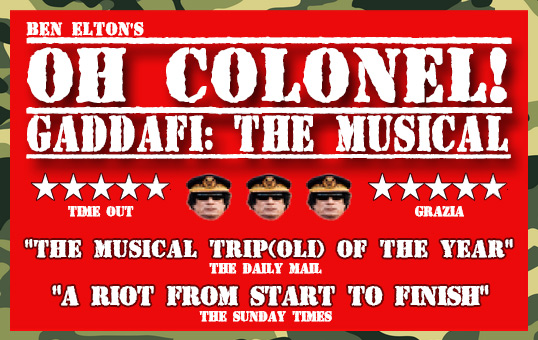 The latest poster for Oh Colonel!