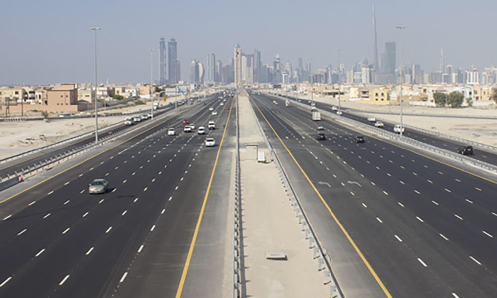 Gold Class Lane to be Introduced on Road Between Dubai and