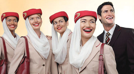 Emirates Staff Laugh While Kitten Dangles From Balcony